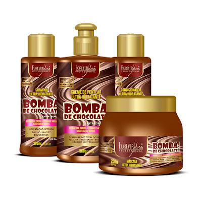 Linha Bomba De Chocolate Forever Liss