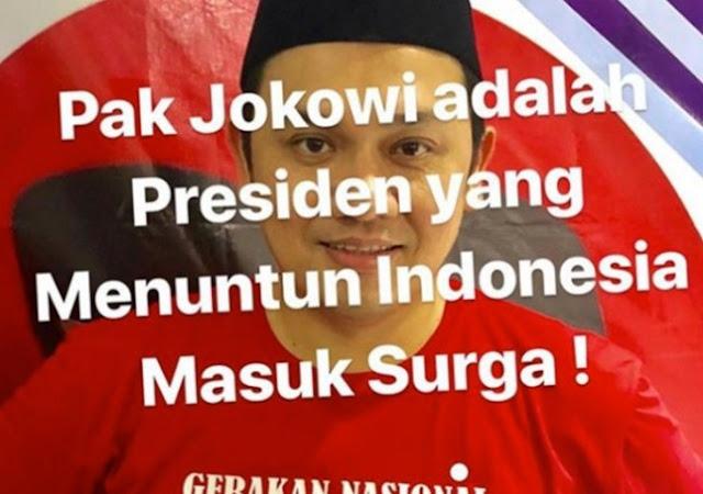 Dilaporkan Gegara 'Pilih Jokowi Masuk Surga', Ini Kata Farhat Abbas
