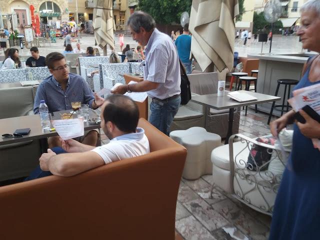Διήμερη περιοδεία του Θανάση Πετράκου σε Κόρινθο και Ναύπλιο