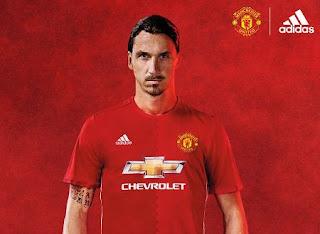 jersey terbaru Manchester United 2016-2017
