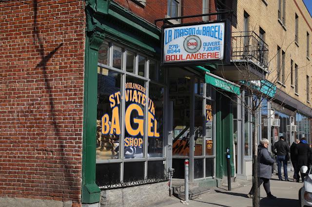 St Viateur bagels, Montreal, Canada