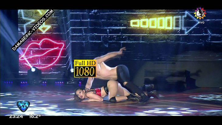 Silvina Luna ass up in mini shorts Damageinc Videos HD