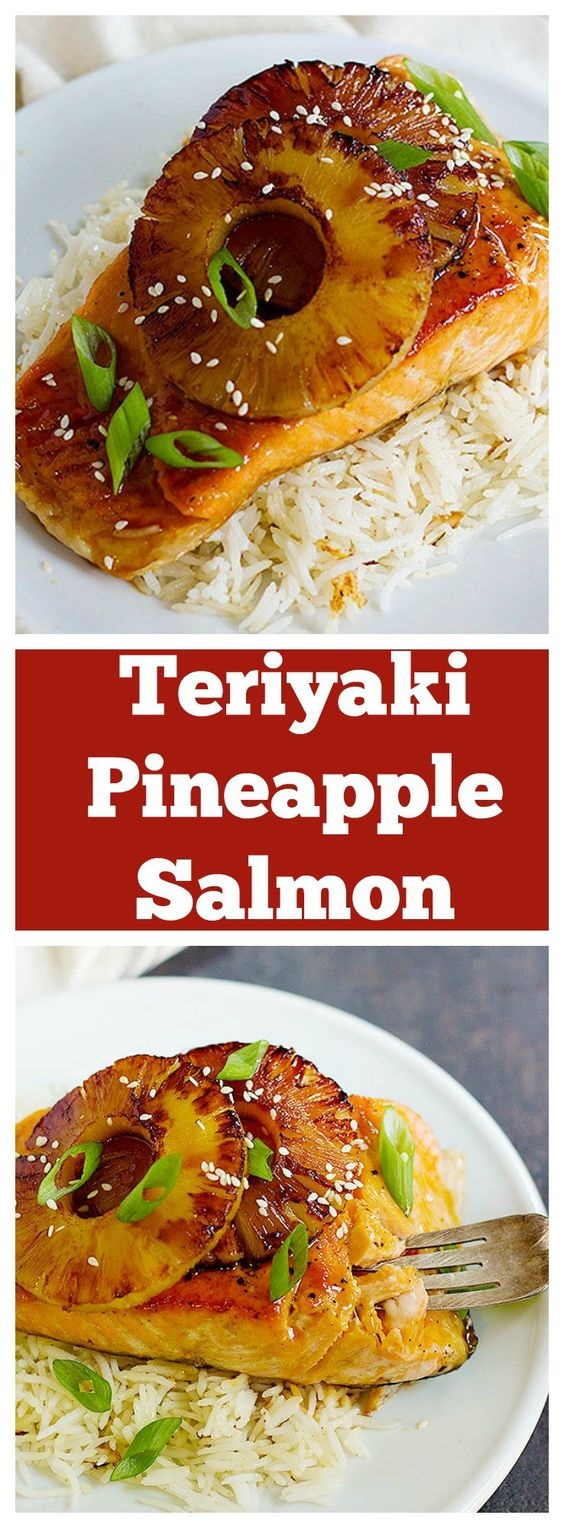 Teriyaki Pineapple Salmon
