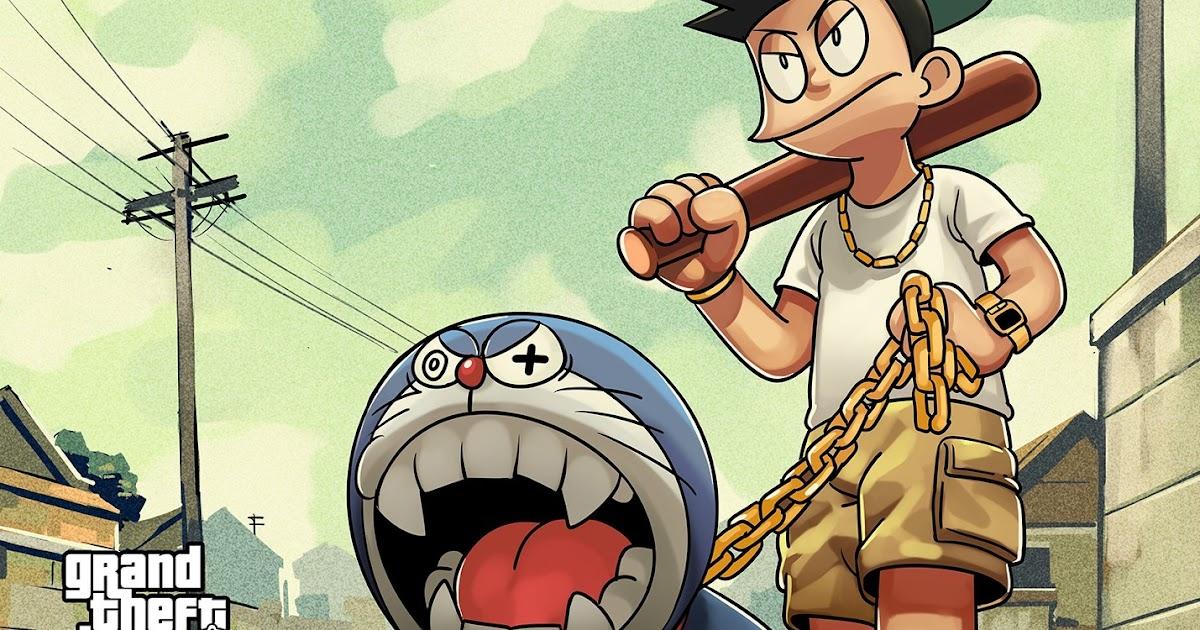 40 Koleski Terbaik Foto Doraemon Jahat 3d Jesstic Lesxoxo