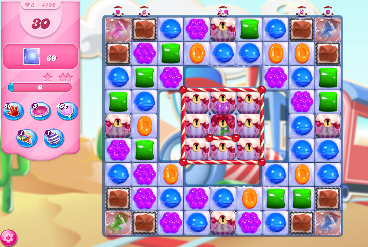 Candy Crush Saga level 4199