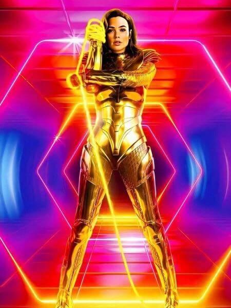 A nova imagem da 'Mulher-Maravilha em 1984' mostra Diana e seu laço da verdade