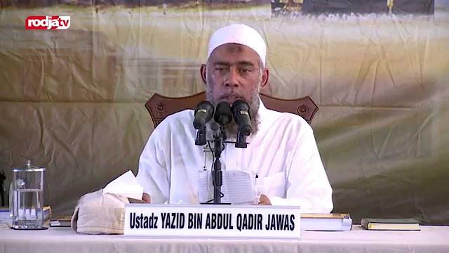 Cerita Ustadz Wahhabi Yazid Jawas Yang Tak Berkutik dan Tidak Siap Diajak Dialog