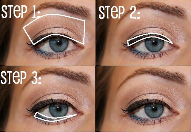 Eyeshadow makeup tutorial for brown eyes