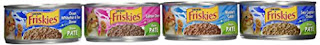 Purina Friskies Classic Pate Seafood Variety Pack Wet Cat Food