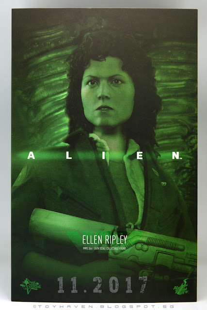osw.zone November 2017 Haul: Hot Toys Rogue A Jyn Erso, Ellen Ripley of ALIEN and the Punisher