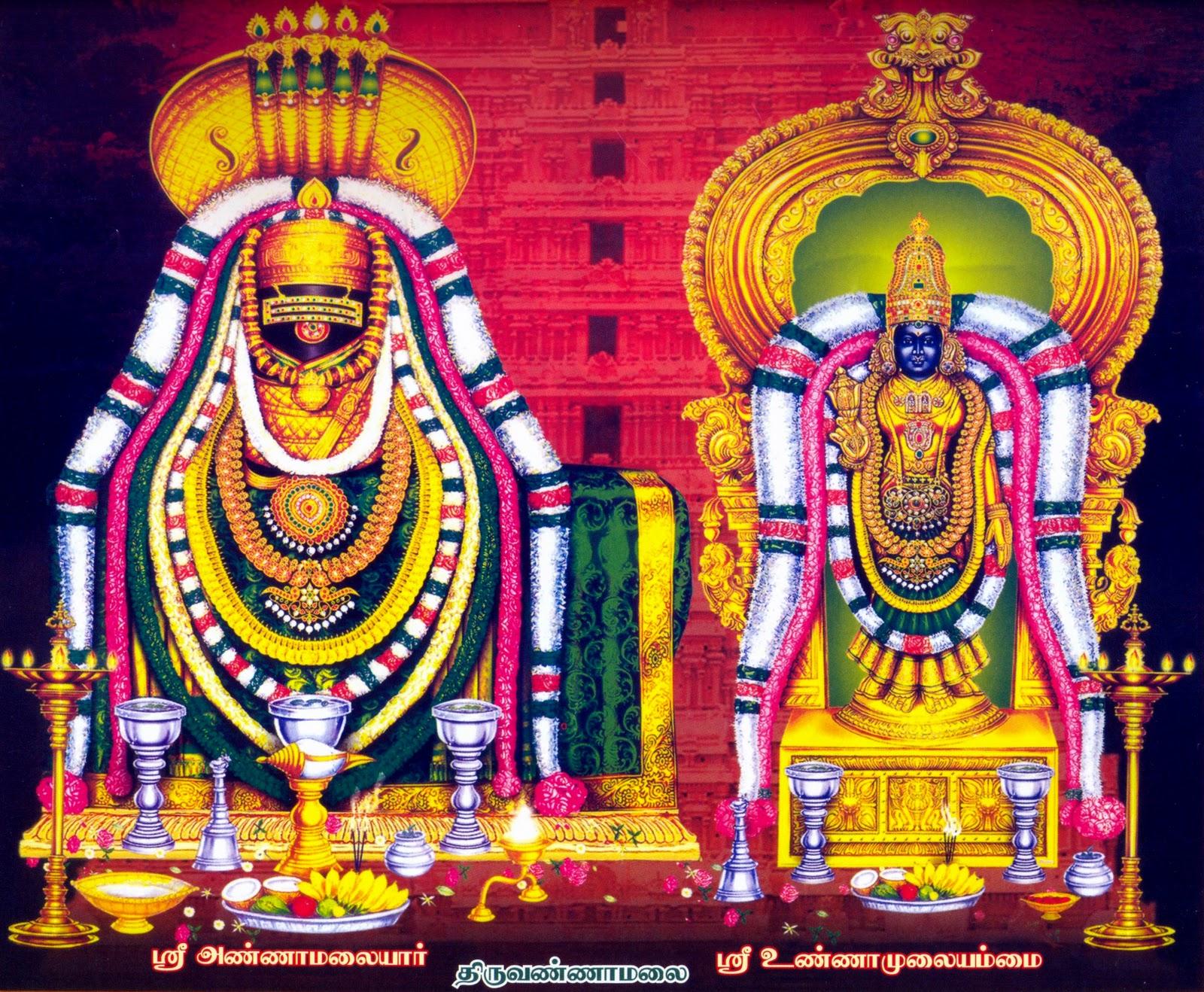 arunachaleswarar unnamalaiyaal tiruvannamalai temple tamilnadu