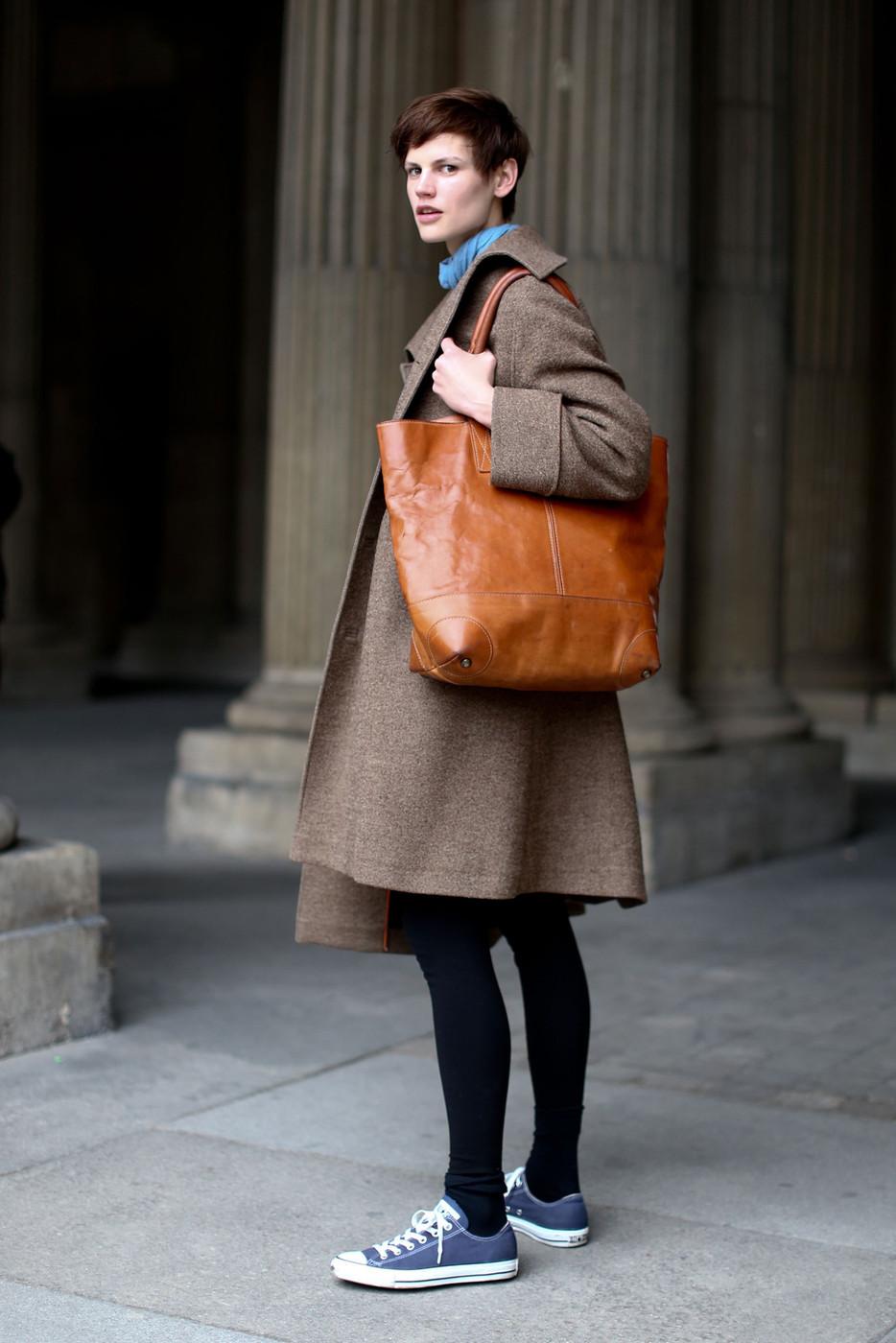 Saskia de Brauw's Androgynous Paris Street Style - The ...