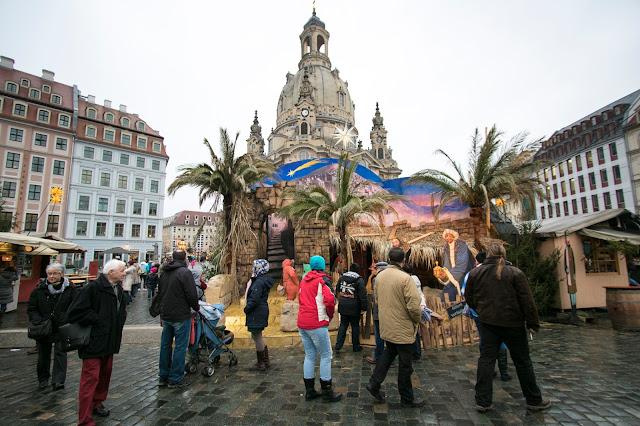 Neumarkt e Frauenkirke-Dresda