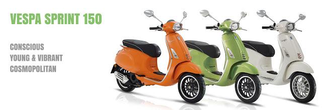 Dealer Piaggio Vespa Malang Vespa Sprint I Get 150