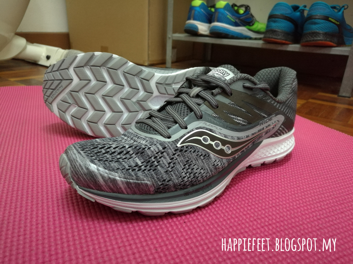 6bfb6c2874 Happy Feet: Saucony Ride 10: Initial Review