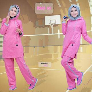 model-kaos-olahraga-wanita-BMS01-pink