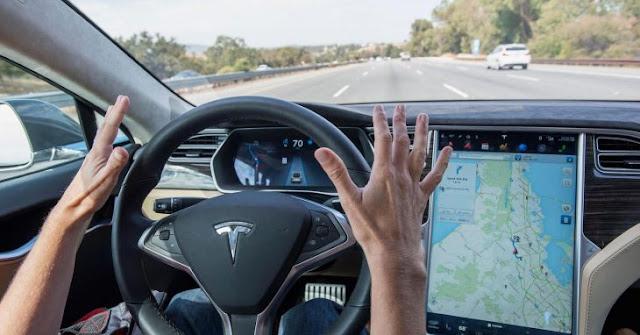 Así es como el Autopilot de Tesla se anticipa a un accidente