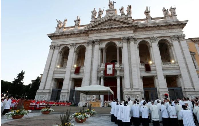 Renungan Harian Selasa 9 November 2021, Pesta Pemberkatan Gereja Basilika Lateran