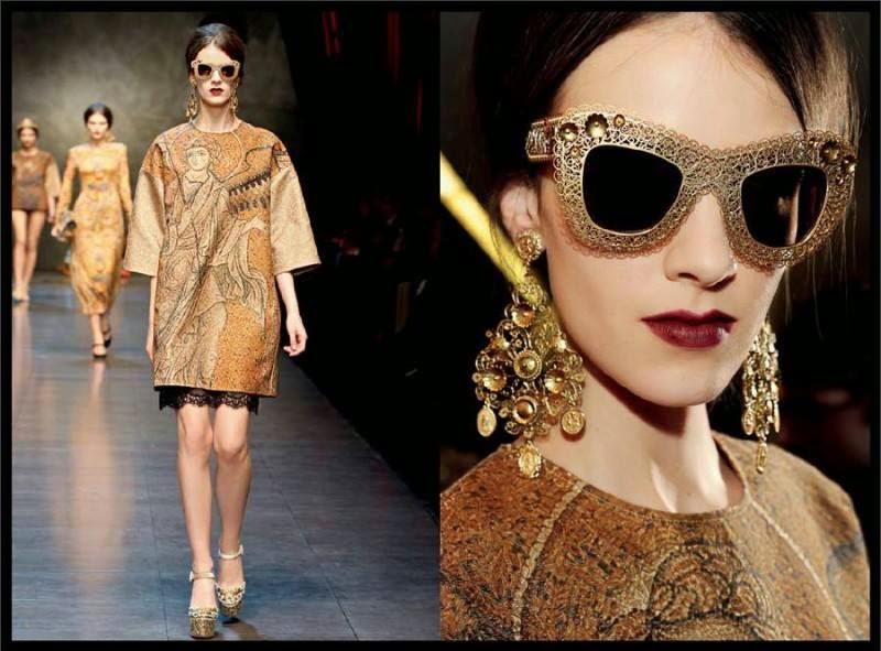 A grife Dolce Gabbana é um luxo e as peças com inspiração barroca deixam  esta característica da marca ainda mais evidente! Temos este óculos de sol  aqui no ... de0ba5ecfa