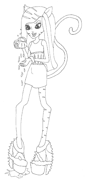 toralei stripe coloring pages - photo#13