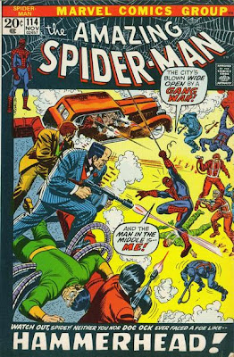 Amazing Spider-Man #114, Dr Octopus and the first full appearance of Hammerhead