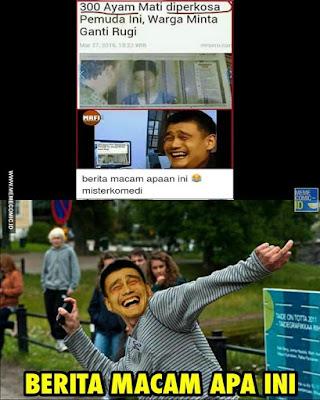 10 Meme 'Berita Macam Apa Ini' Kocaknya Maksimal Banget, Bikin Kzl!