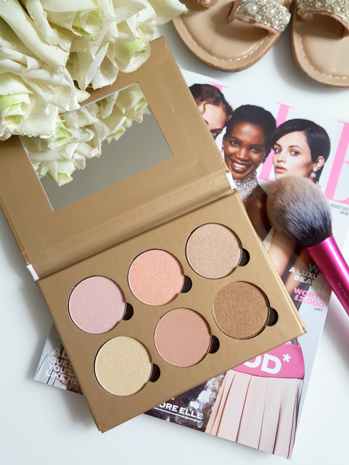 Review: bellápierre Cosmetics - Glowing Palette Highlighter - Madame Keke The Luxury Beauty & Lifestyle Blog