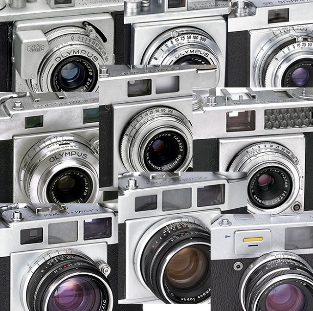 Olympus 35mm Cameras, 1948-1958