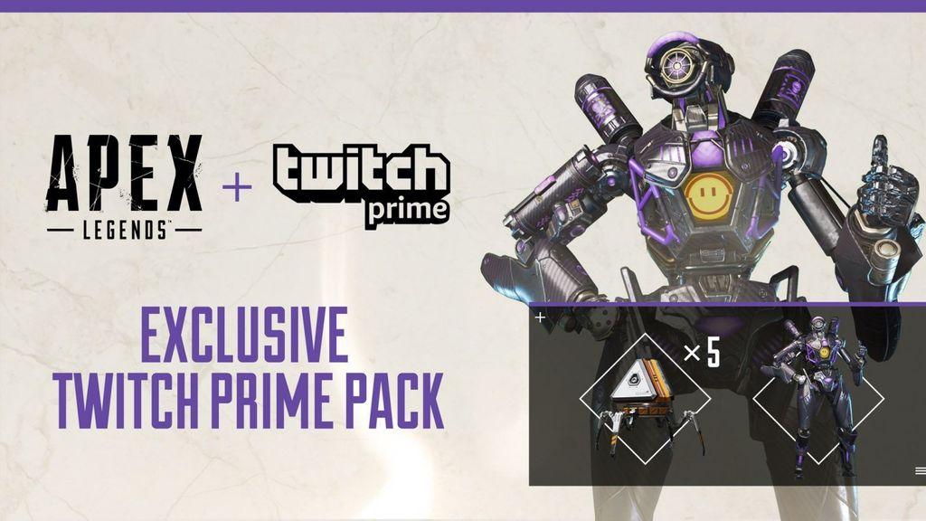 Apex Legends Twitch Prime Rewards
