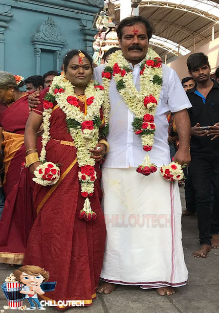 Ramdoss got married today morning in Vadapalanai Temple