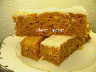 PINEAPPLE--PUMPKIN--CARROT BARS