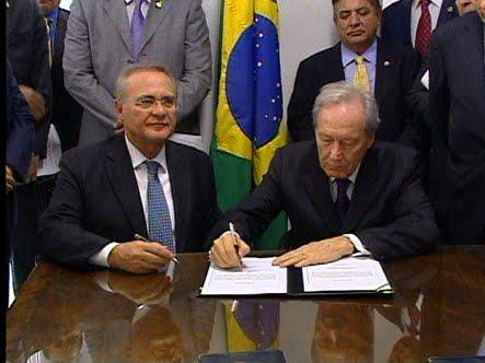 Surrealismo brasileiro: Lewandowski e Renan juntos no Senado é a cara de nossa impunidade
