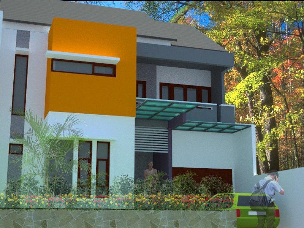 Desain Rumah Minimalis 100 Populer