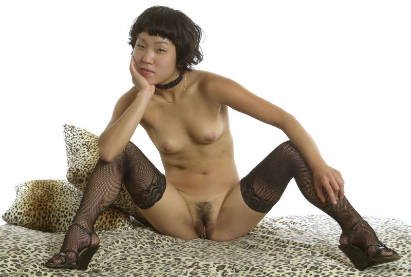 Hot asian milf strip