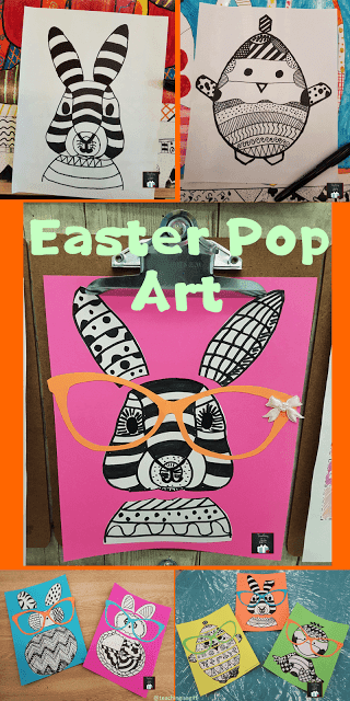 Picture of Easter Pop Art Icons