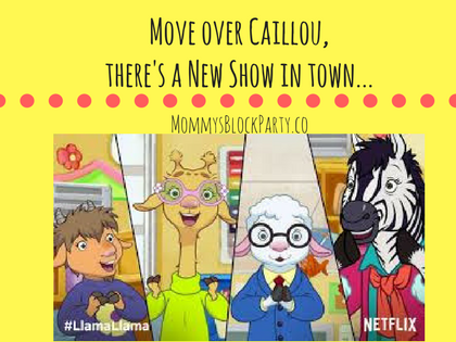 Move Over Caillou, there's a New Show in town...