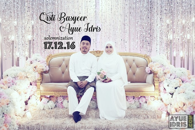 The Wedding   Mr. & Mrs. Qisti