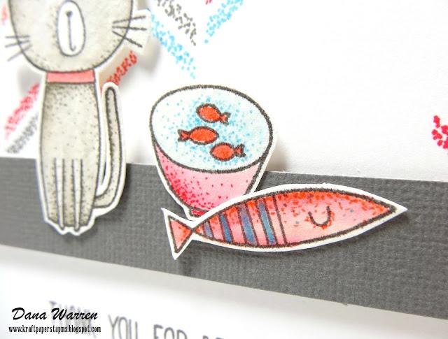 Dana Warren - Kraft Paper Stamps - My Favorite Things
