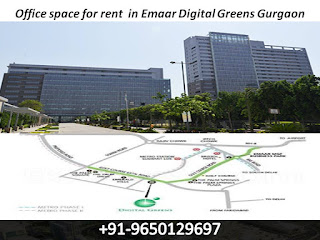 Office space for rent  in Emaar Digital Greens Gurgaon || 9650129697