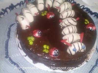preparar-tarta-gusano-donetes