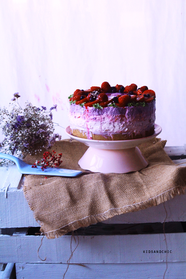tarta mousse frutos rojos -kidsandchic-sinhorno-jaquealareina