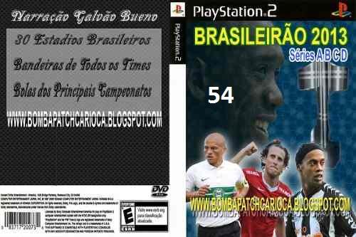 WE10 - Patch Brasileirão 2013 - Séries A,B,C e D - (PS2)