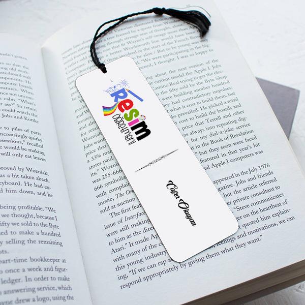 Resim Öğretmenleri için Hediyelik Kitap Ayracı