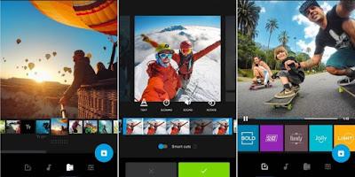Aplikasi editor video android terbaik tahun 2019