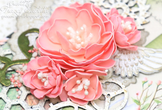 DIY Foamiran Rose Video Tutorial by Tracey Sabella ~ #Foamiran #Foamiranflowers