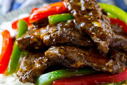 DELICIOUS PEPPER STEAK STIR FRY