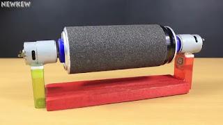 membuat sendiri drum sander dari kaleng bekas