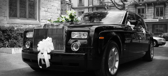 Black Wedding Cab Hire