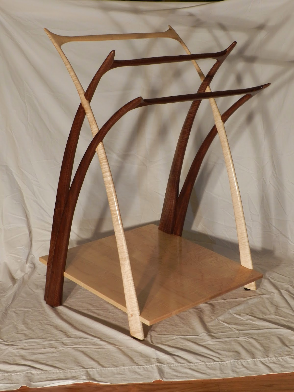 The Penultimate Woodshop: Lill's Quilt Rack: Part XII