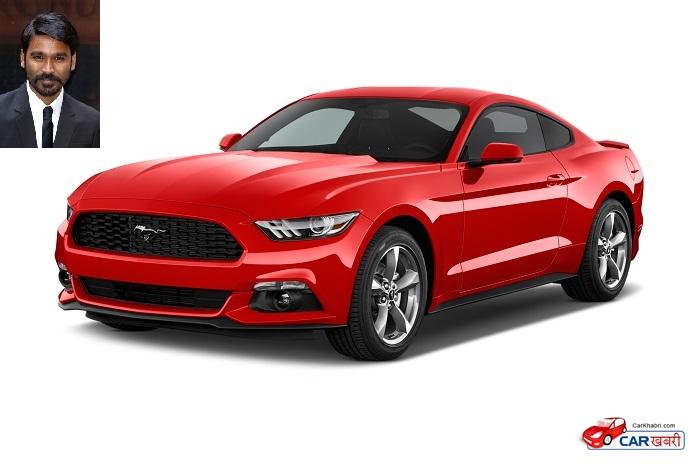 Dhanush's Ford Mustang